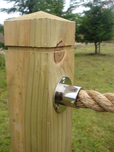 Rope Rope Posts 414 Fencing